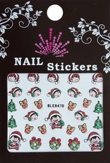 Bell'ure Nail Art Sticker Christmas Elfs