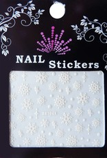 Bell'ure Nail Art Sticker Snowflakes 049