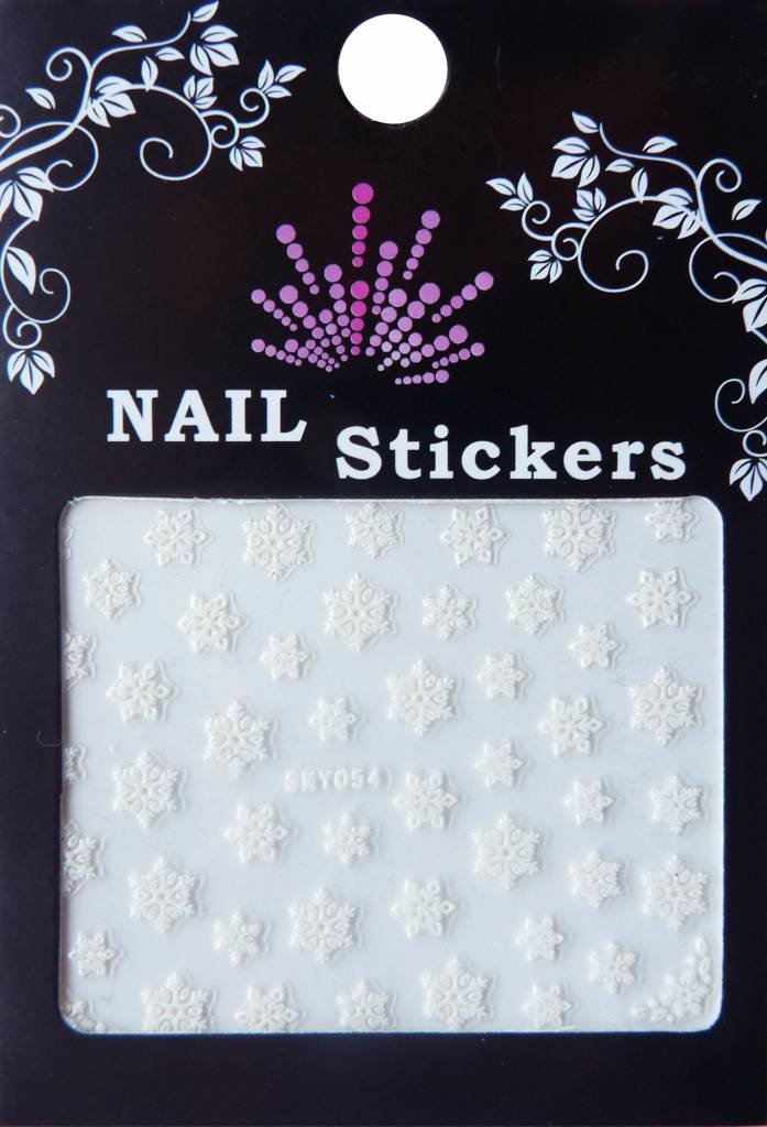 Bell'ure Nail Art Sticker Snowflakes 054
