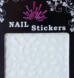 Bell'ure Nail Art Sticker Snowflakes 053