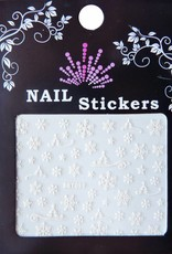 Bell'ure Nail Art Sticker Snowflakes 050