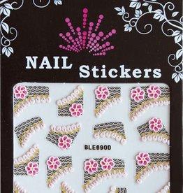Bell'ure Nail Art Sticker Flowertips