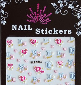 Bell'ure Nail Art Sticker Signs