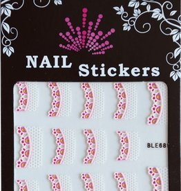 Bell'ure Nail Art Sticker Jeweled Tips