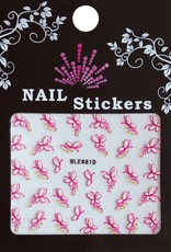 Bell'ure Nail Art Sticker Butterflies