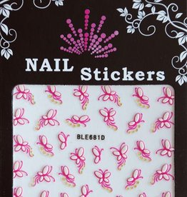 Bell'ure Nail Art Sticker Butterflies