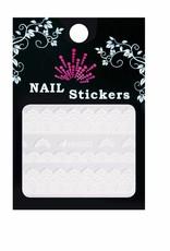 Bell'ure Nail Art Sticker Lace White
