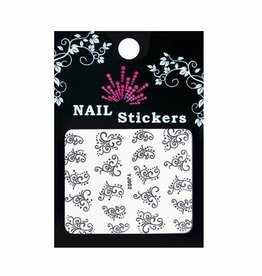 Bell'ure Nail Art Sticker Dots & Curls