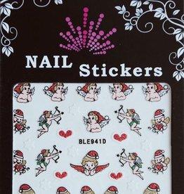 Bell'ure Nail Art Sticker Christmas Cupid