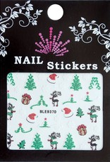 Bell'ure Nail Art Sticker Christmass Trees