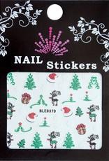 Bell'ure Nail Art Sticker Christmass Trees
