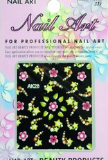 Bell'ure Nail Art Sticker Flowers AK28