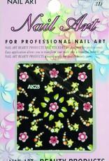 Bell'ure Nail Art Sticker Flowers AK28