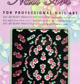 Bell'ure Nail Art Sticker Flowers AK29