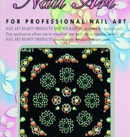 Bell'ure Nail Art Sticker Flowers AK31