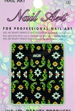 Bell'ure Nail Art Sticker Flowers AK26