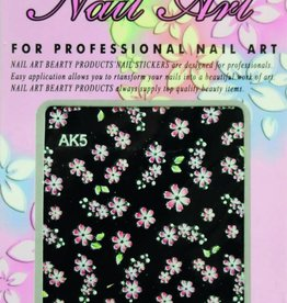Bell'ure Nail Art Sticker Flowers AK5