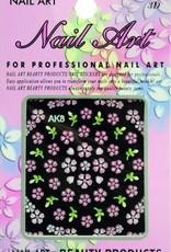 Bell'ure Nail Art Sticker Flowers AK8