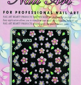 Bell'ure Nail Art Sticker Flowers AK13