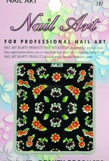 Bell'ure Nail Art Sticker Flowers AK16