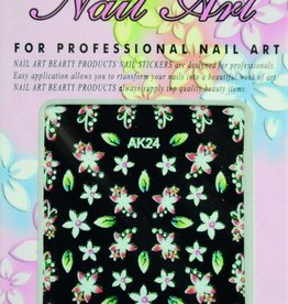 Bell'ure Nail Art Sticker Flowers AK24