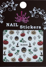 Bell'ure Nail Art Sticker Halloween Pumpkins