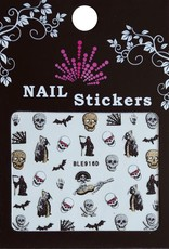 Bell'ure Nail Art Sticker Halloween Ghosts
