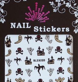 Bell'ure Nail Art Sticker Halloween Ghosts & Churches