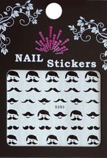 Bell'ure Nail Art Sticker Moustache Leo