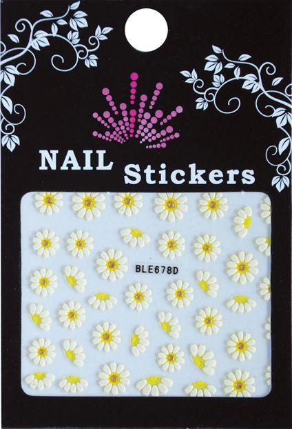Bell'ure Nail Art Sticker Flowers BLE678D