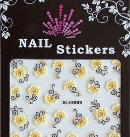Bell'ure Nail Art Sticker Flowers BLE696D