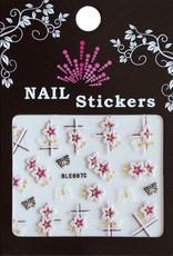 Bell'ure Nail Art Sticker Flowers BLE697D