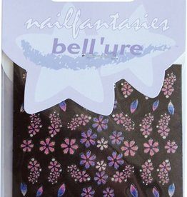Bell'ure Nail Art Sticker Rainbow Flowers