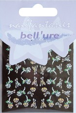 Bell'ure Nail Art Sticker Butterflies & Roses