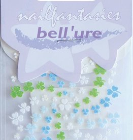 Bell'ure Nail Art Sticker Clover Blue & Green
