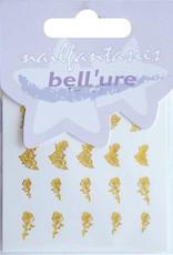 Bell'ure Nail Art Sticker Golden Roses