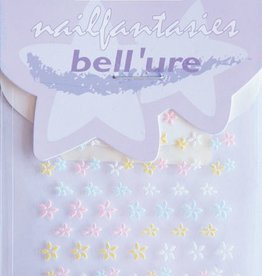 Bell'ure Nail Art Sticker Pastel Flowers
