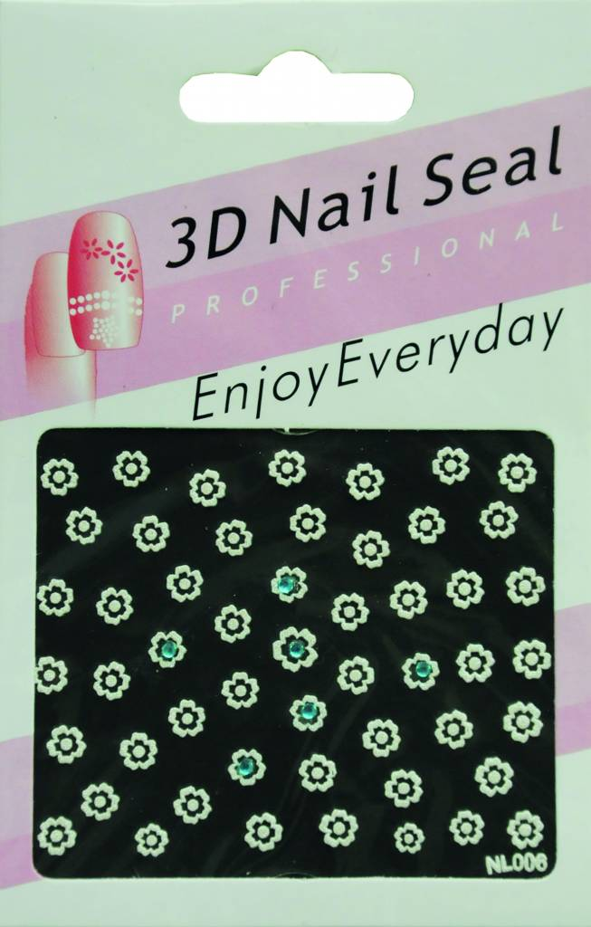 Bell'ure Nail Art Sticker Flowers NL006