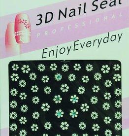 Bell'ure Nail Art Sticker Flowers NL012