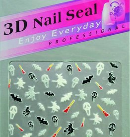 Bell'ure Nail Art Sticker Halloween Miscellaneous