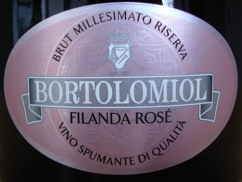 Bortolomiol, Brut Millesimato Filanda Rosato, 2016