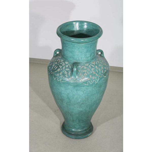 Vase, türkis