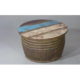 Couchtisch Bareilly III, Industriedesign, Durchmesser: 74 cm
