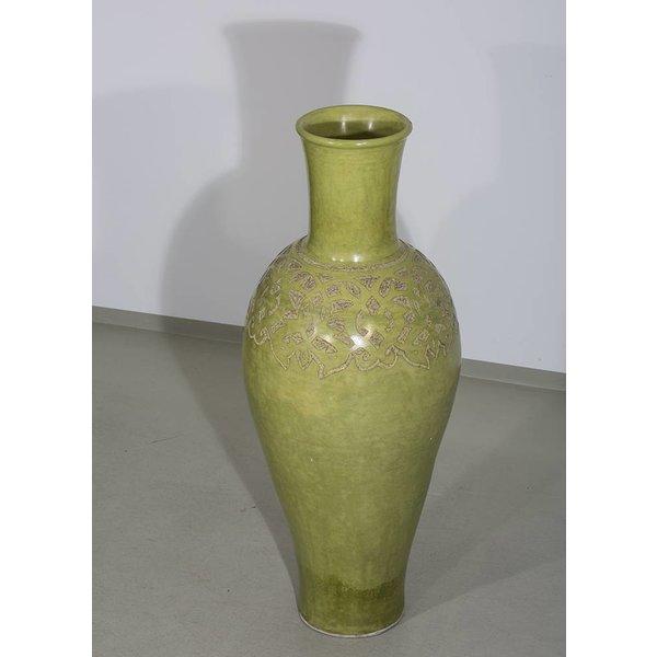Vase, grün