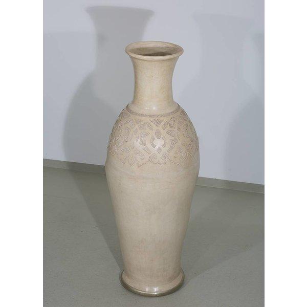 Vase, creme