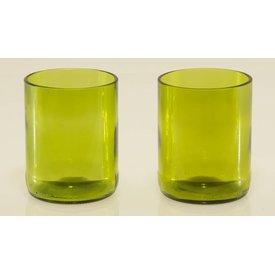Wasserglas, 2-er Set, Altglas