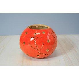 Teelicht Kalebasse