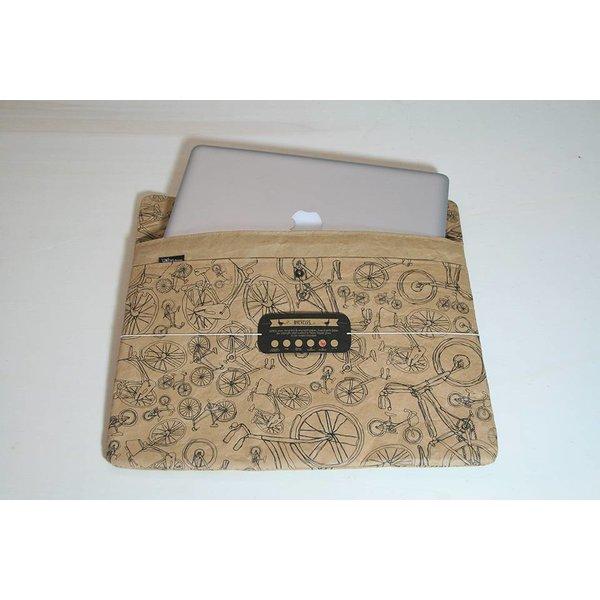 Laptop- Tasche, upcycelt