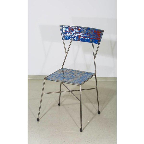 Stuhl Matadi aus Stahlblech