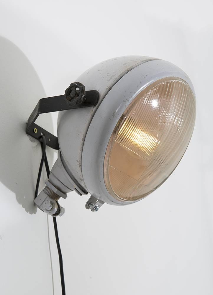 wandlampe industriedesign. Black Bedroom Furniture Sets. Home Design Ideas
